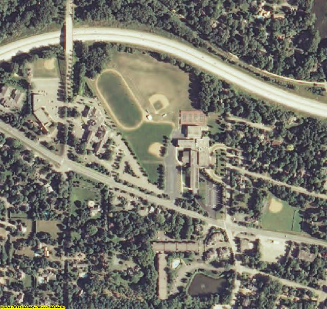 Hennepin County, MN aerial photography detail