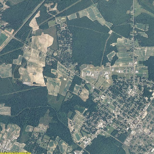 Hertford County, North Carolina aerial photography