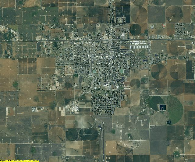 Hockley County, Texas aerial photography