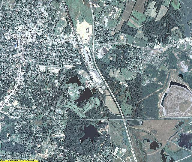 Hopkins County, Kentucky aerial photography