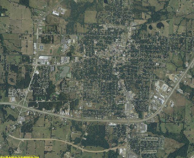Hopkins County, Texas aerial photography