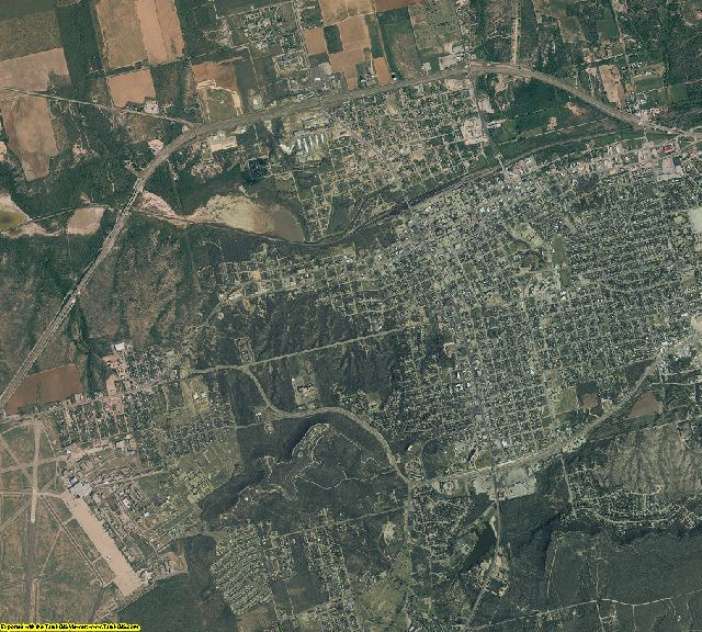 Howard County, Texas aerial photography