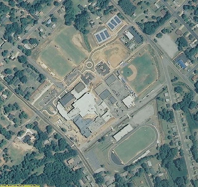 Iredell County, NC aerial photography detail