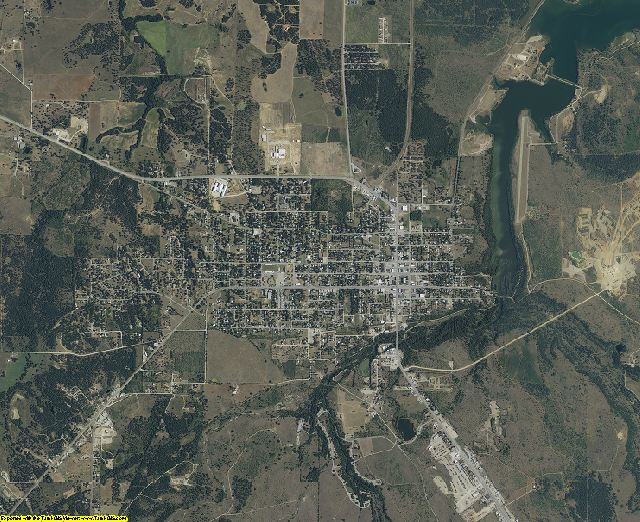 Jack County, Texas aerial photography