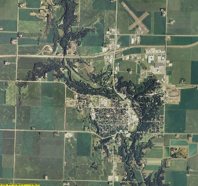 Jackson County, Minnesota aerial photography