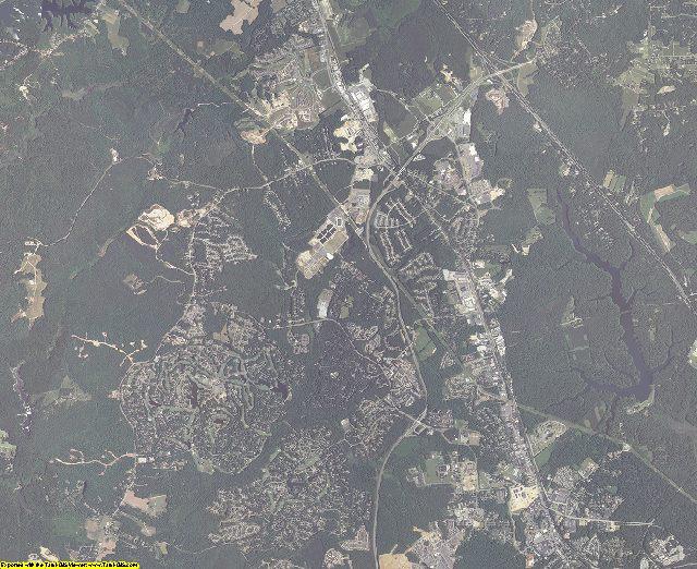 James City County, Virginia aerial photography