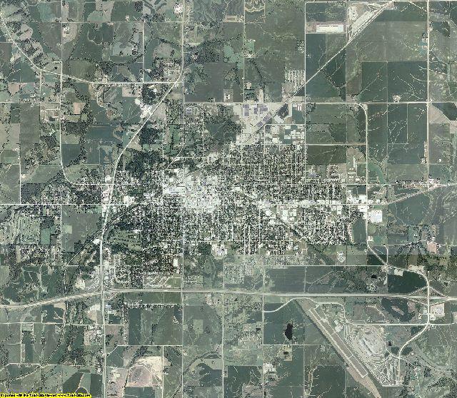Jasper County, Iowa aerial photography