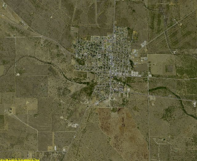 Jim Hogg County, Texas aerial photography