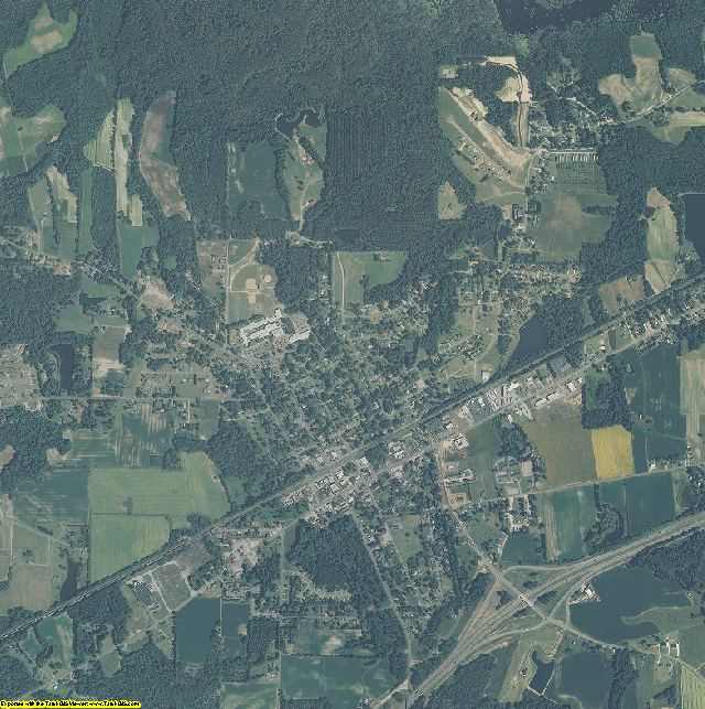 Johnston County, North Carolina aerial photography