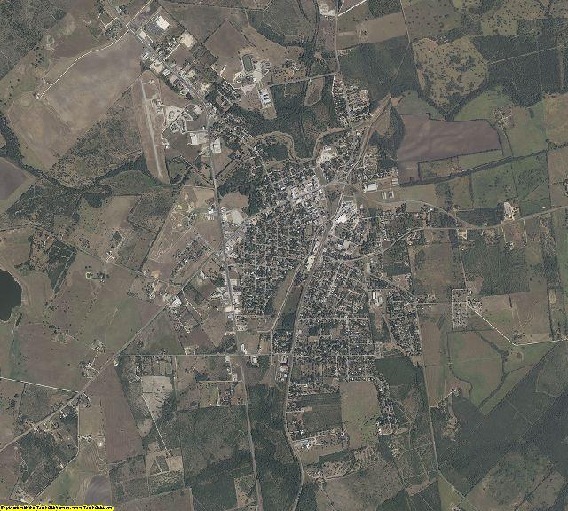 Karnes County, Texas aerial photography