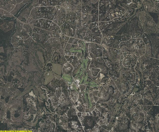 Kendall County, Texas aerial photography