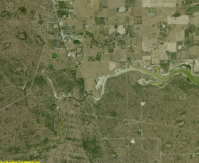 Kenedy County, Texas aerial photography