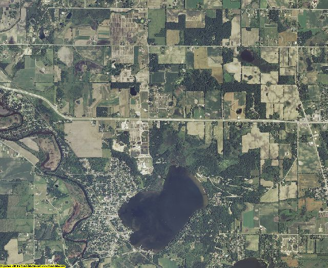 Kenosha County, Wisconsin aerial photography