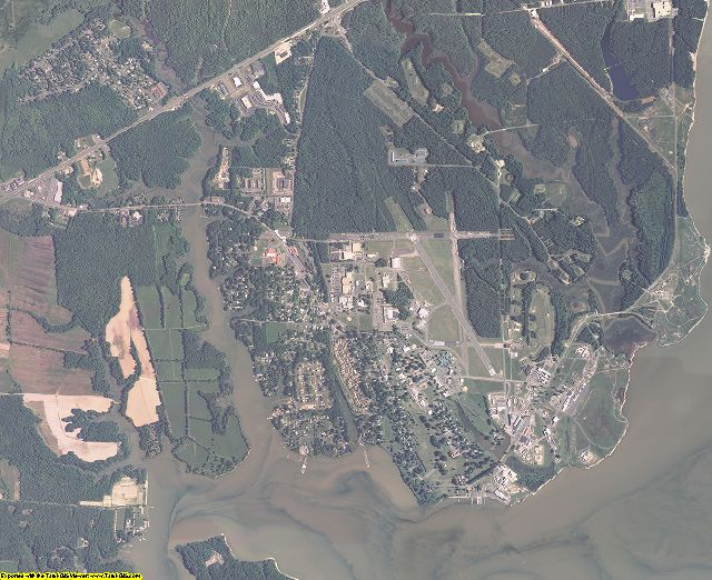 King George County, Virginia aerial photography