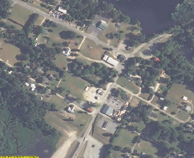 King William County, VA aerial photography detail
