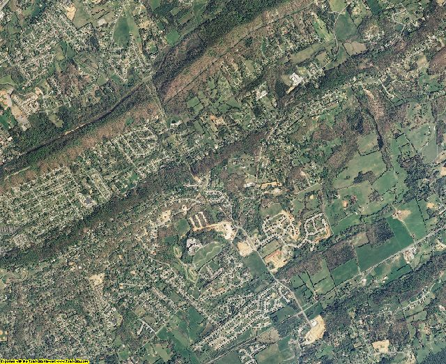 Knox County, Tennessee aerial photography