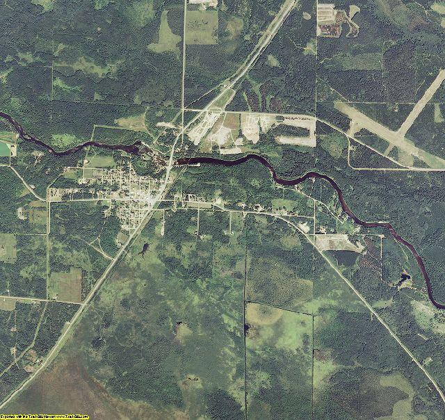 Koochiching County, Minnesota aerial photography