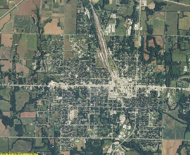 Labette County, Kansas aerial photography