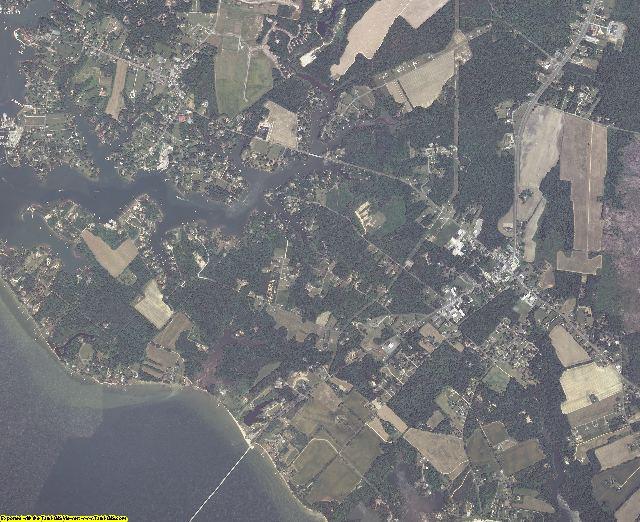 Lancaster County, Virginia aerial photography
