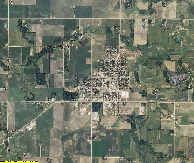 Le Sueur County, Minnesota aerial photography