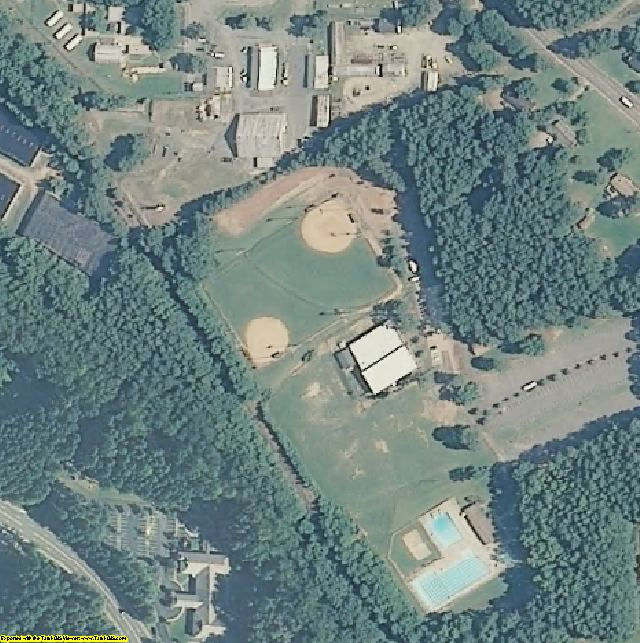 Lee County, NC aerial photography detail