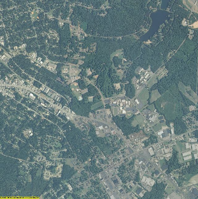 Lee County, North Carolina aerial photography