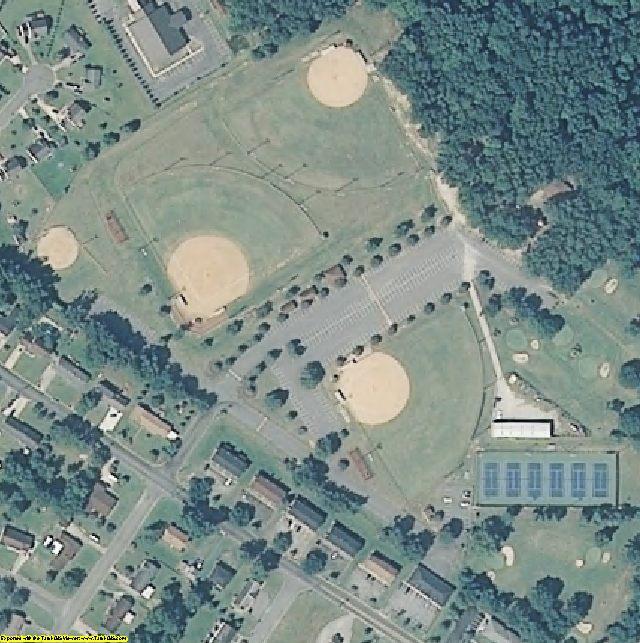 Lenoir County, NC aerial photography detail