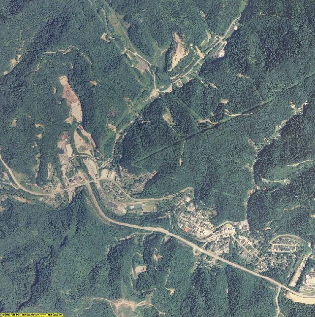 Letcher County, Kentucky aerial photography