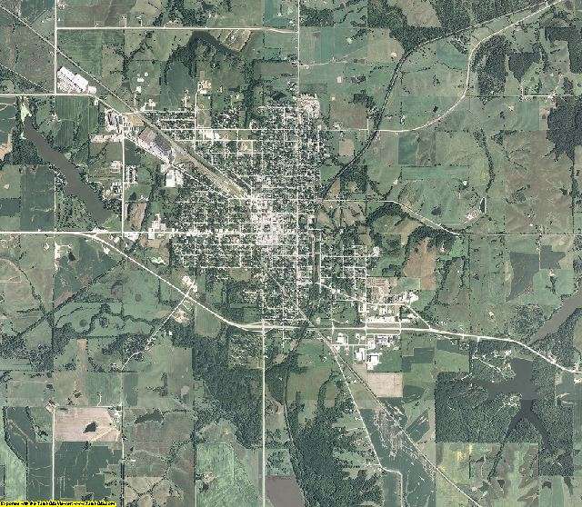 Lucas County, Iowa aerial photography