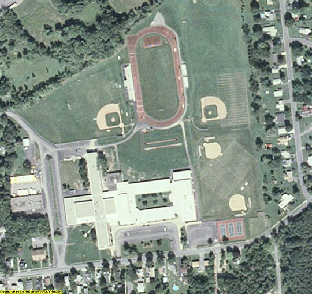 Madison County, NY aerial photography detail