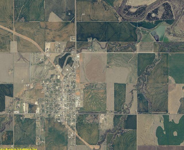 Major County, Oklahoma aerial photography