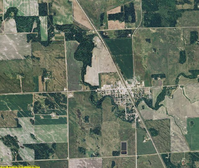 Marshall County, Minnesota aerial photography