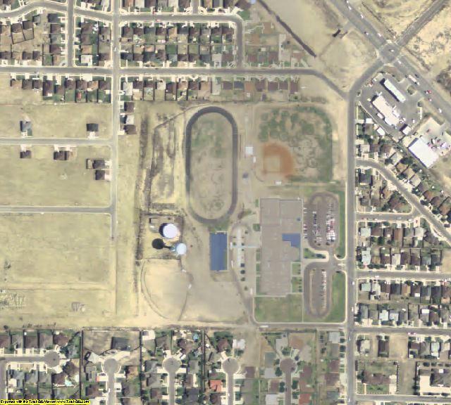 Maverick County, TX aerial photography detail