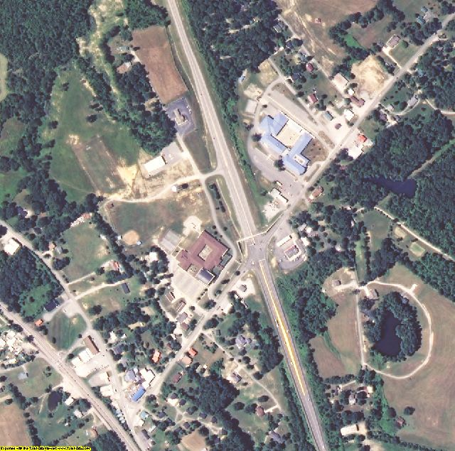 McCreary County, KY aerial photography detail