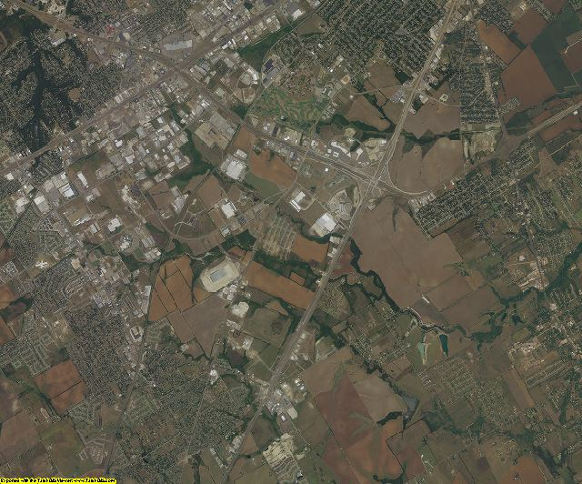 McLennan County, Texas aerial photography