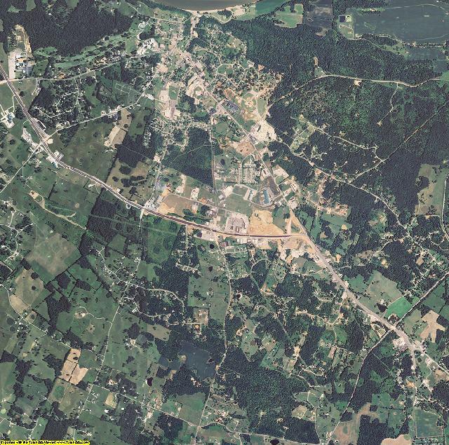 Meade County, Kentucky aerial photography