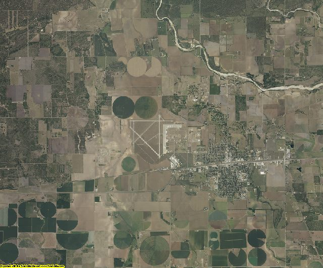 Medina County, Texas aerial photography