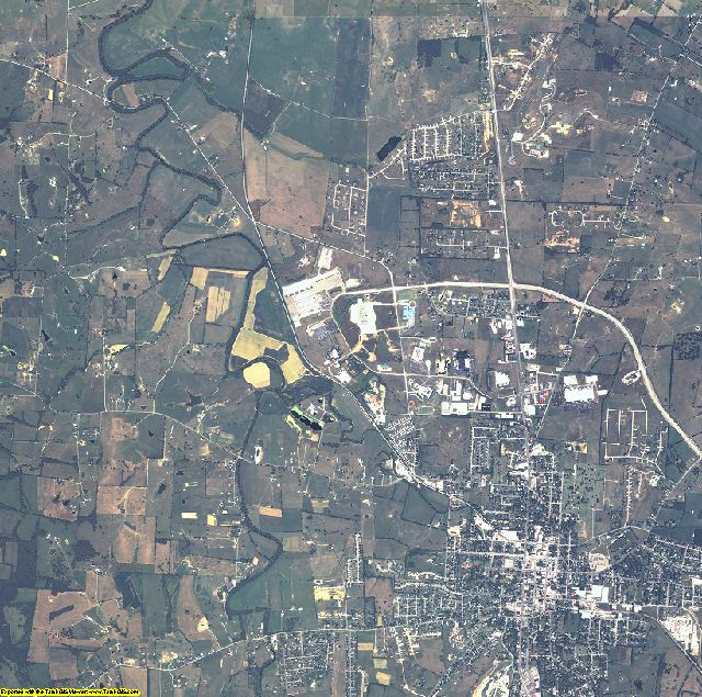 Mercer County, Kentucky aerial photography