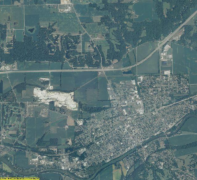 Miami County, Indiana aerial photography
