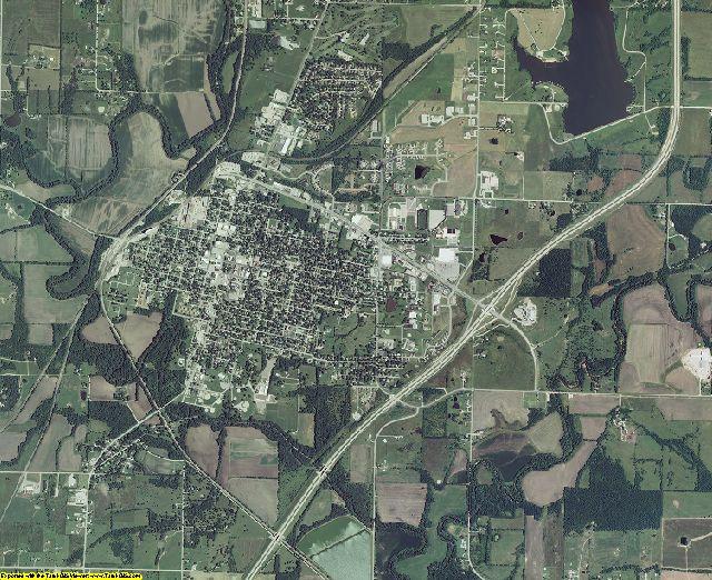 Miami County, Kansas aerial photography