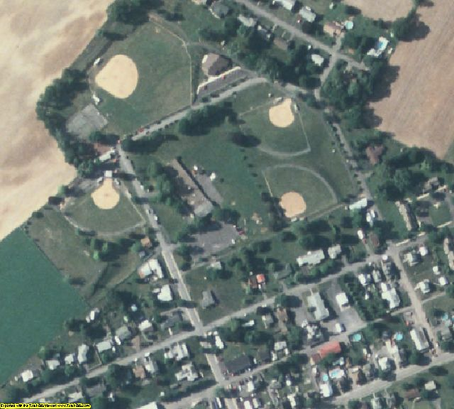 Mifflin County, PA aerial photography detail