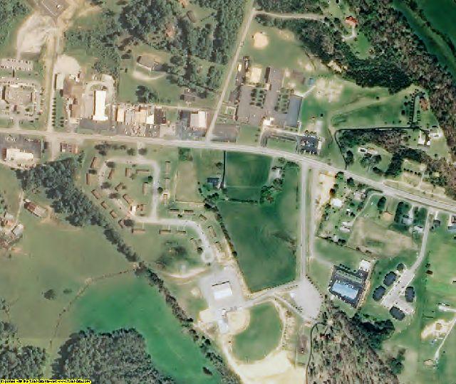 Morgan County, TN aerial photography detail