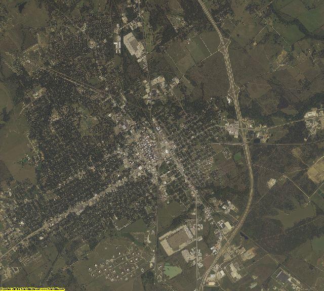 Navarro County, Texas aerial photography
