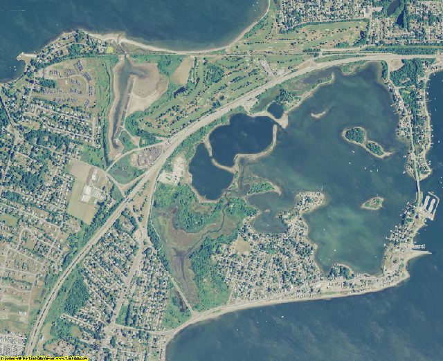 Newport County, Rhode Island aerial photography