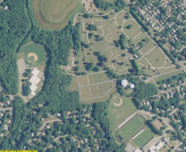 Norfolk County, MA aerial photography detail