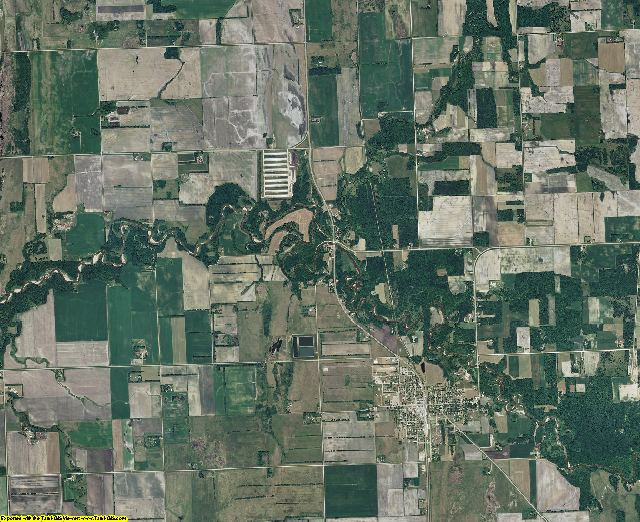 Norman County, Minnesota aerial photography