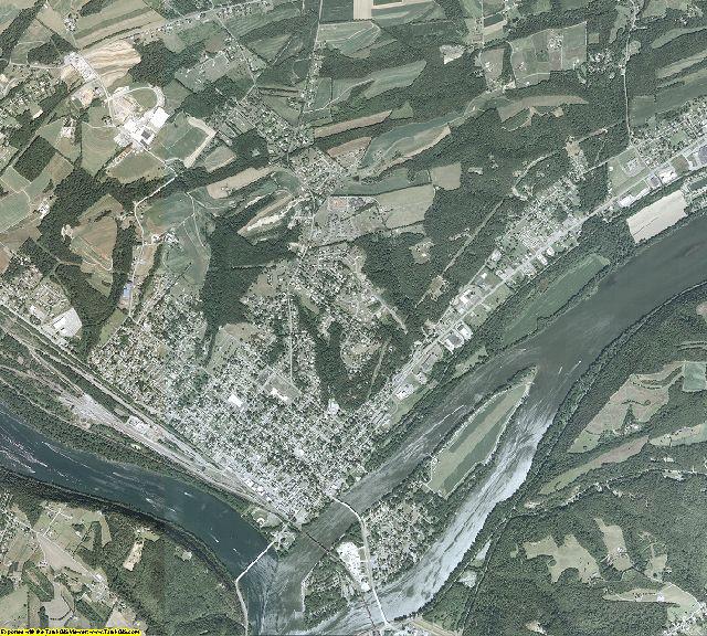 Northumberland County, Pennsylvania aerial photography