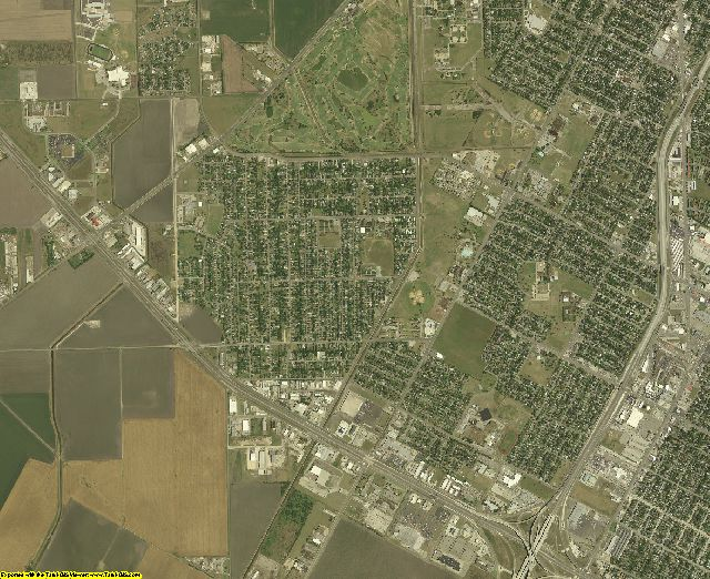 Nueces County, Texas aerial photography