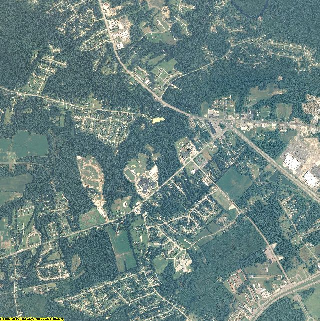Onslow County, North Carolina aerial photography