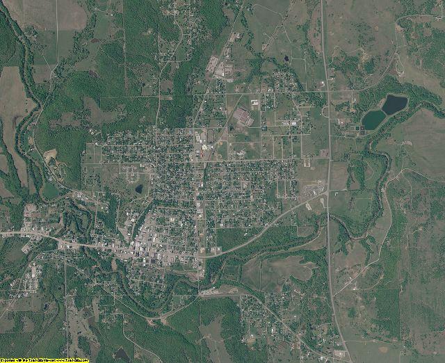 Osage County, Oklahoma aerial photography